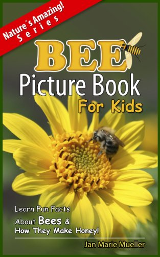 Bee: A  Picture Book For Kids To Learn Fun Facts About Bees And How They Make Honey (Nature´s Amazing! Series 4)