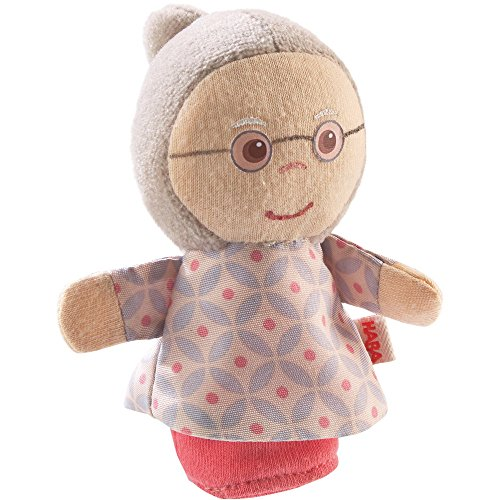 [해외]HABA Finger Puppet Mini Grandma for Ages 18 Months and Up / HABA Finger Puppet Mini Grandma for Ages 18 Months and Up
