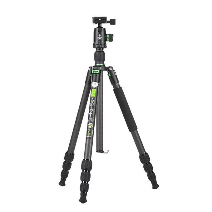 5 opinioni per Genesis C1Kit Universale Nero, Verde treppiede–Treppiedi (1,42kg, Carbone,