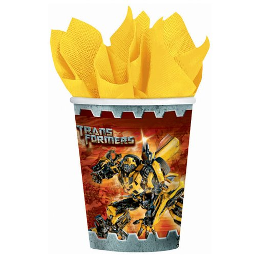 Transformers 3 - 9 oz. Paper Cups Party Accessory