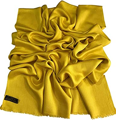 CJ Apparel White Solid Colour Design Shawl Scarf Wrap Stole Pashmina Seconds NEW