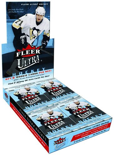 2008-09 (2009) Fleer Ultra NHL Hockey Sports Trading Cards Hobby Box (Cards Ultra Hobby Fleer Hockey)