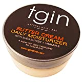 tgin Butter Cream Daily Moisturizer for Natural Hair, 2oz Travel Size