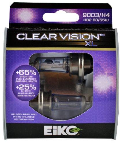 Amazon.com: EiKO 9003/H4CVXL2 9003/H4 Clear Vision XL Halogen Replacement Bulb, (Pack of 2): Automotive