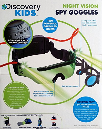 Discovery Kids Night Vision Spy Goggles by Discovery Kids (Image #1)