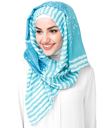 Silk Route© New Viscose Stripes And Lines Stole Scarf Ladies Wrap Hijab