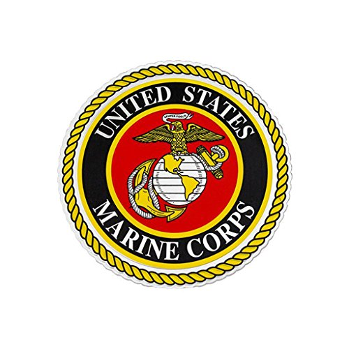Foils Decal - USMC Emblem Embossed 4