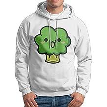Best Super Cute Broccoli Smiles Hoodie Sweatshirt