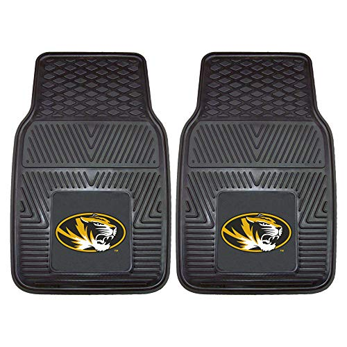 (FANMATS NCAA University of Missouri Tigers Vinyl Heavy Duty Car Mat )