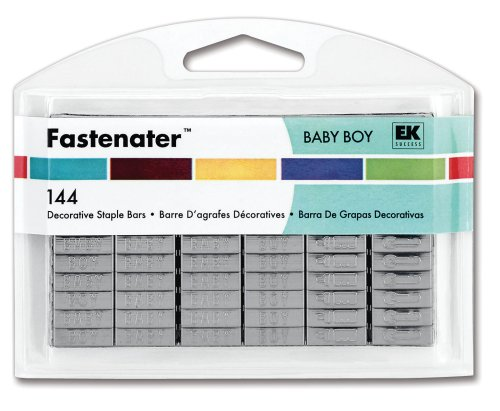 EK Success Fastenater Baby Boy Staple Bars Value -