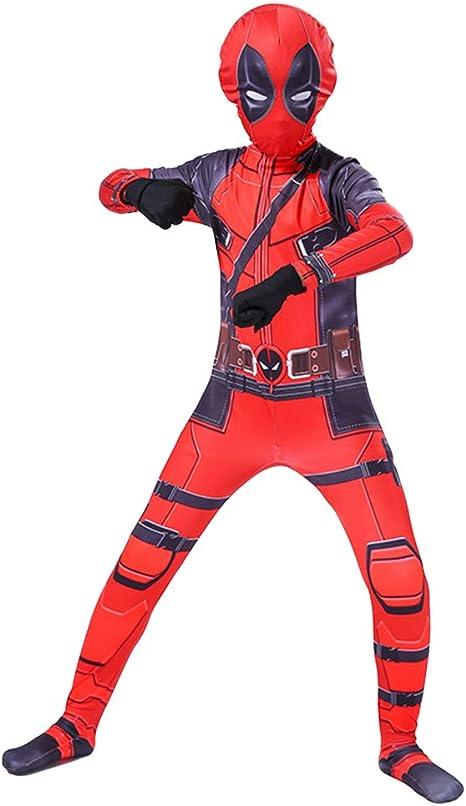Traje de Deadpool Medias siamesas Niños Hombres Traje de Cosplay ...