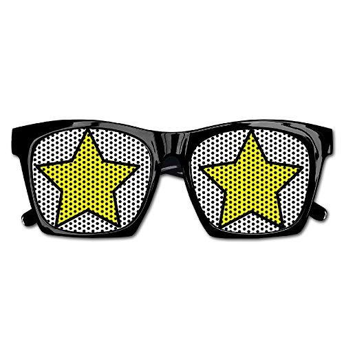 Clipart Stars Unisex Polarized Party Sunglasses Resin Frame Eyewear Favor Mesh Lens Sun - Sunglasses Clipart With