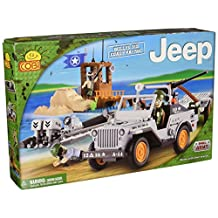 Cobi 24253 COBI Small Army Jeep Willys MB Coast Patrol Building Kit