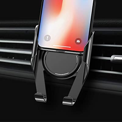 Universal Cell Phone Holder for Car that Clips onto the Air Vent on your Cars Dashboard - Ultimate Mobile Phone Accessories for Charging, GPS and Hands Free use of iphone and android phones