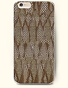 Gold Serpentine Grain - Snake Skin Print - Phone Cover for Apple iPhone 6 Plus ( 5.5 inches ) - OOFIT Authentic iPhone Case