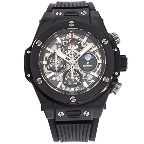 Hublot Big Bang Mechanical (Automatic) Skeletonized Dial Mens Watch 406.CI.0170.RX (Certified Pre-Owned) ()