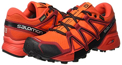 black Pied De scarlet fiery À Running 2 Homme Ibis Et Red Chaussures Pointure textile Speedcross Orange Trail Salomon Gtx Synthétique Vario Gris Course SBzwFYqY