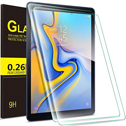 Luibor Samsung Galaxy TAB A 8.0 2018 T387 Tablet Tempered Glass Screen Protector HD Screen Protector for Samsung Galaxy TAB A 8.0 2018 T387 Tablet (2pcs)