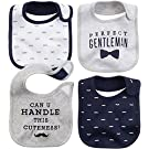 Carter's Bibs - Navy Grey - 4 ct