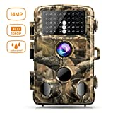 "Photo : Campark Trail Game Camera 14MP 1080P Waterproof Hunting Scouting Cam for Wildlife Monitoring with 120°Detecting Range Motion Activated Night Vision 2.4"" LCD IR LEDs"