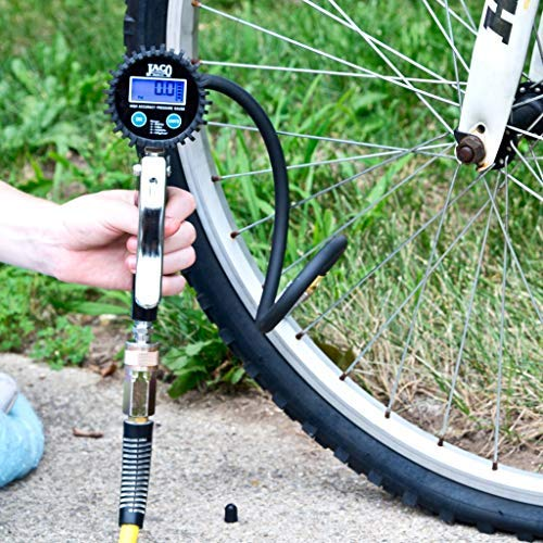 JACO FlowPro 2.0 Digital Tire Inflator Gauge - 200 PSI by JACO Superior Products (Image #2)
