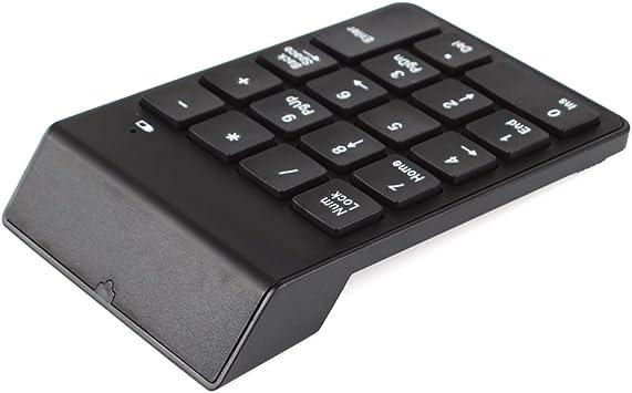 rungao 2,4 G inalámbrico teclado numérico USB Mini Digital Numpad 18 teclas teclado para Imac/MacBook Air/Pro portátil PC Notebook escritorio