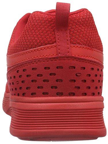 KangaROOS Unisex-Erwachsene Current Low-Top Rot (flame red 670)