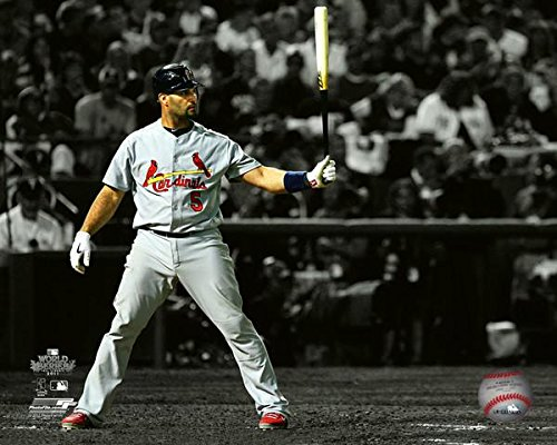 Albert Pujols St. Louis Cardinals World Series Spotlight Photo (Size: 8