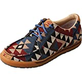 Twisted X Boots Womens Hooey Aztec Pattern Canvas Casual Shoes 9 B(M) US Multi