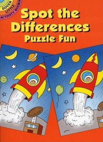 Spot-the-Differences Puzzle Fun (Dover Little Activity Books)