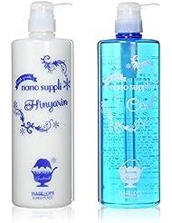 Sunny Place Heaope nano cleansing shampoo (COOL, soft type) 1000ml & nano Hin'yarin treatments (COOL, soft type) 1000ml