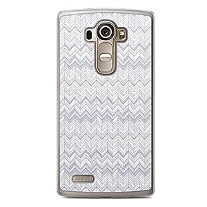 Chevron 5 LG G4 Transparent Edge Case - Chevron Collection