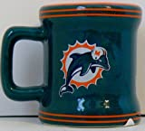Miami Dolphins Sculpted Mini Mug Shot Glass