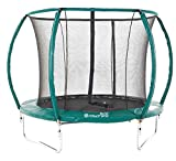 Skyhigh Orbisphere 8/10 / 12/14 Foot Superior Spec Trampoline with Safety Enclosure and Premium Ladder