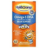 Cheap Seven Seas Haliborange Kids Omega-3 with Vitamins 90 Orange Chewable Fruit Burst Capsules