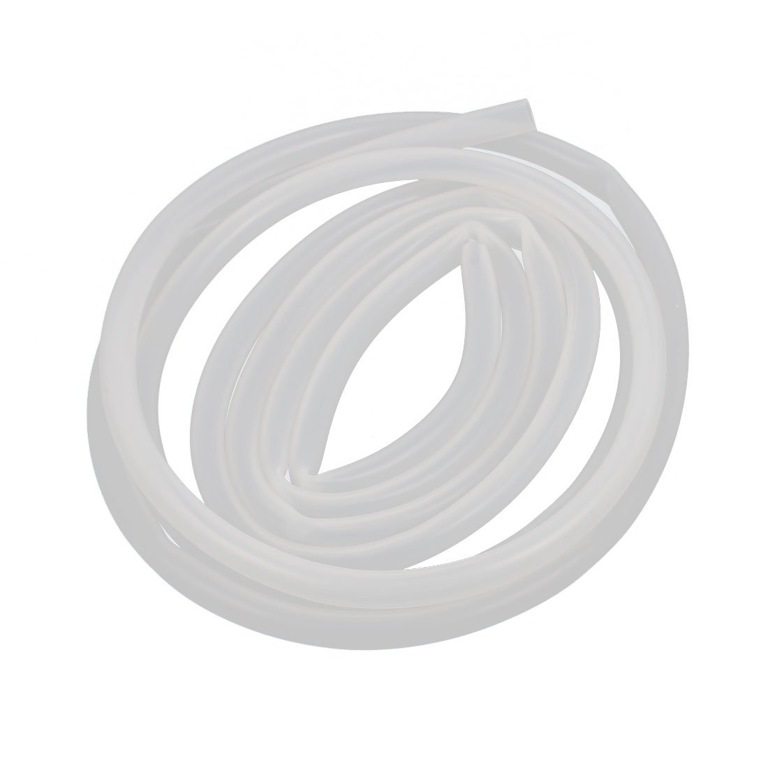 sourcingmap Silicone Tube 16mm ID X 20mm OD 3.3 Flexible Silicone Rubber Tubing Water Air Hose Pipe Translucent for Pump Transfer
