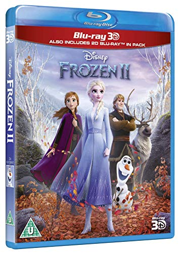 Frozen 2 3-d [Blu-ray] [2019] [Region Free]