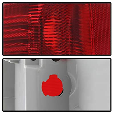 ACANII - [For 2009-2014 Ford F150 F-150 Pickup Truck] Styleside Tail Lights Brake Lamps Assembly Replacement Left+Right: Automotive