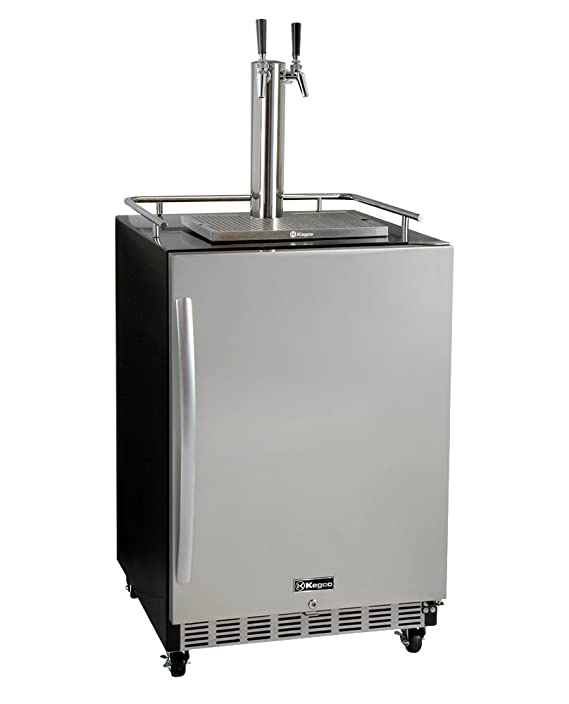 Amazon.com: Kegco HK38BSC-2 2-Tap Commercial Built-In Kegerator w/X-CLUSIVE Dispense Kit: Appliances
