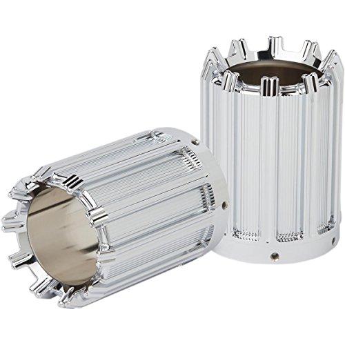 Arlen Ness Exhaust - Arlen Ness I-1107 10-Gauge Exhaust Tips - Chrome