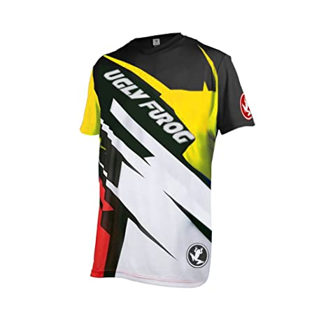 Image Unavailable. Image not available for. Color  Uglyfrog D14 Designs Bike  Wear Men s MTB Jersey ... 48da448ab