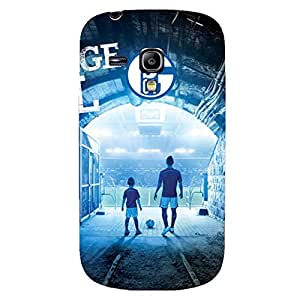 3D Custom Style Hard Plastic Phone Case for Samsung Galaxy S3 mini Gelsenkirchen-Schalke 04 Football Club Team Logo Print Case FT6K127 Design Gift for Fans