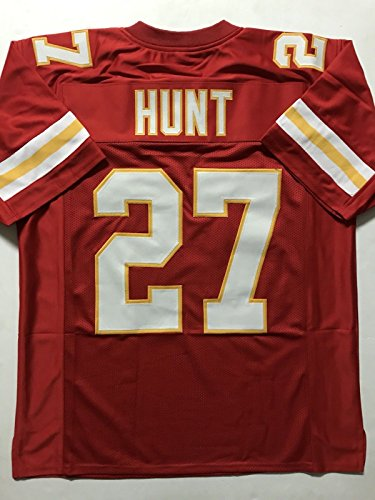 Unsigned Kareem Hunt Kansas City Red Custom Stitched Football Jersey Size XL New No Brands/Logos