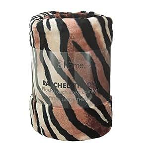 Catherine Lansfield - Manta (tejido raschel, 150 x 200 cm), diseño de estampado de tigre
