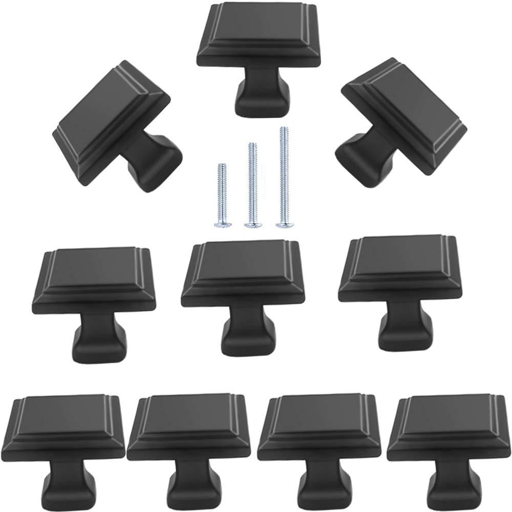 10 Tiradores - Negro (88H19SC2)