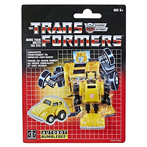 """Transformers G1 Reissue Bumblebee Exclusives 3"""" Action Figure"""