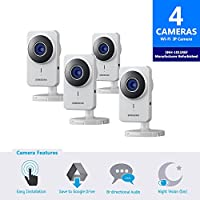 Samsung IP SmartCam Bundle SNH-1011RFM Quad Pack-Certified Manufacturer Refurbished