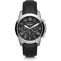 FS4812 Grant Chronograph Black Leather Watch
