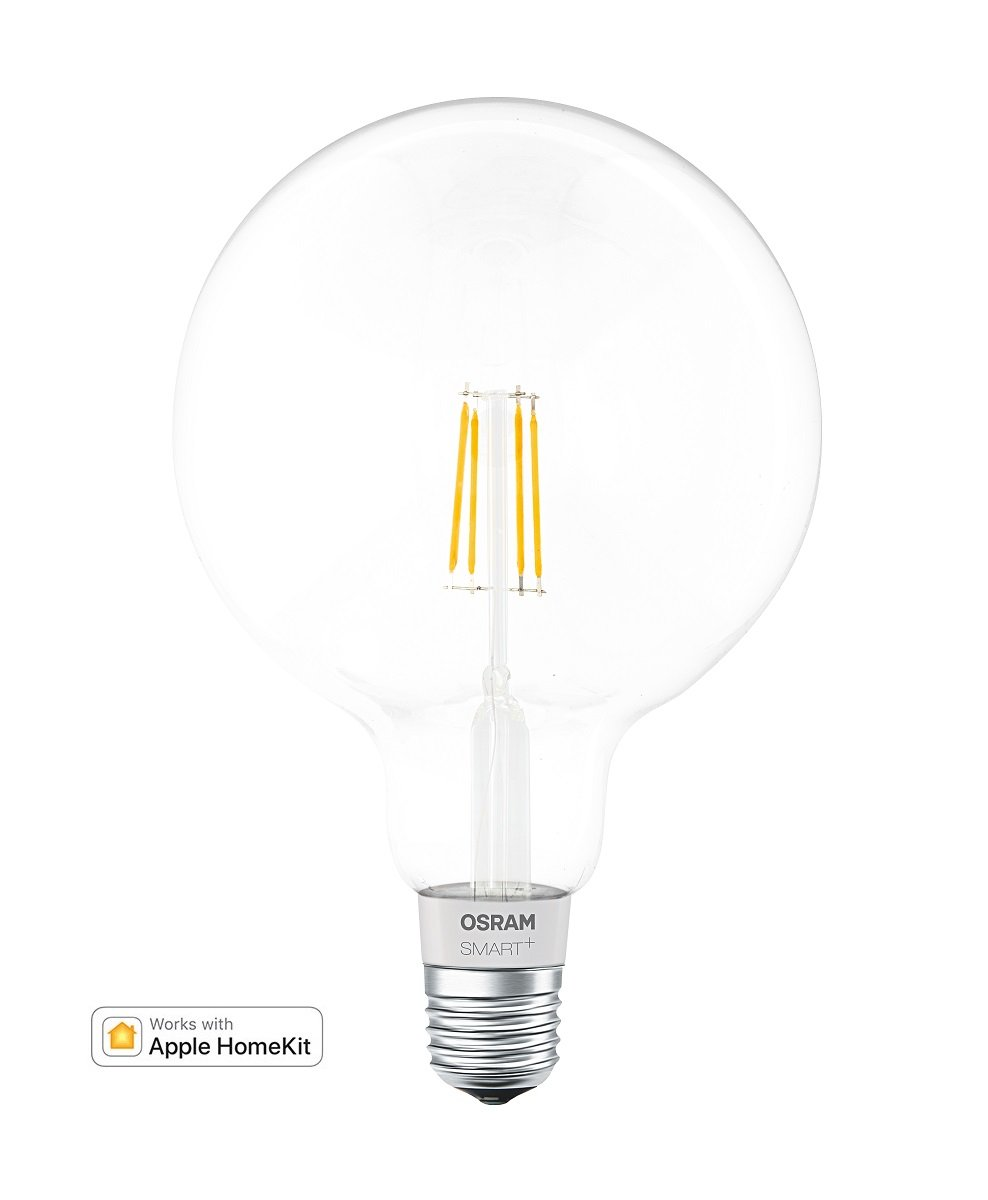 Osram Smart Bombilla Led Globo Filamento Regulable E27, 5.5 W, Blanco: Amazon.es: Iluminación