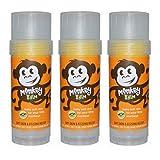 monkey Balmers Monkey Balm, Organic Sea Buckthorn Eczema Remedy Balm, 2-ounce, 3 Sticks